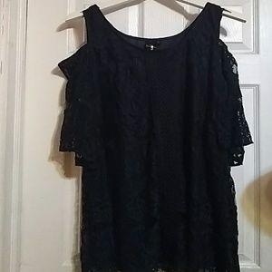 NWT Navy blue lace dress